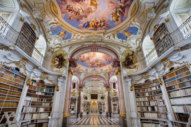 Austria_-_Admont_Abbey_Library_-_1323-1050x700
